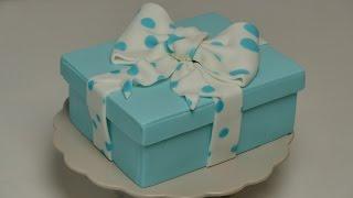 Geschenkbox-Torte | Gift Box Cake | Fondant-Torte von Nicoles Zuckerwerk
