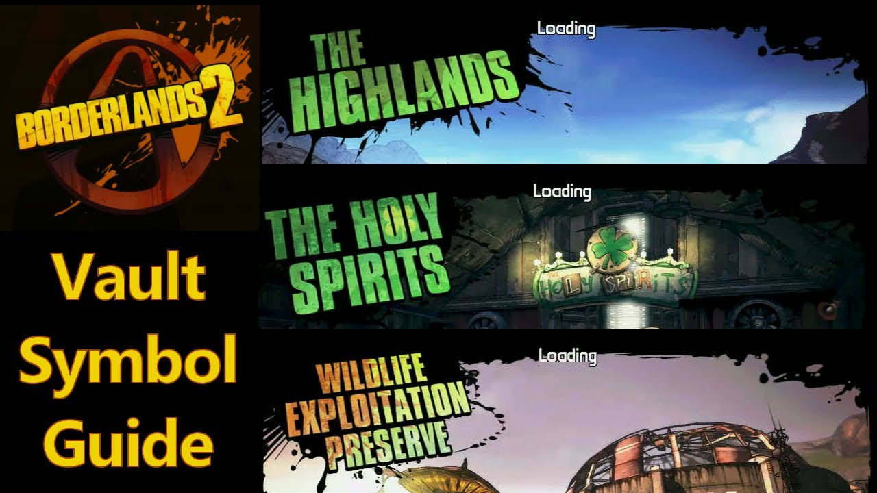 Borderlands 2 Vault Symbols The Highlands Holy Spirit