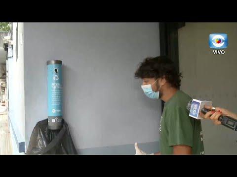Recolección y reciclaje de colillas de cigarro