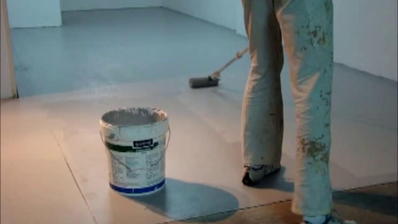 Como pintar suelo de garaje youtube - Pintura de suelo ...