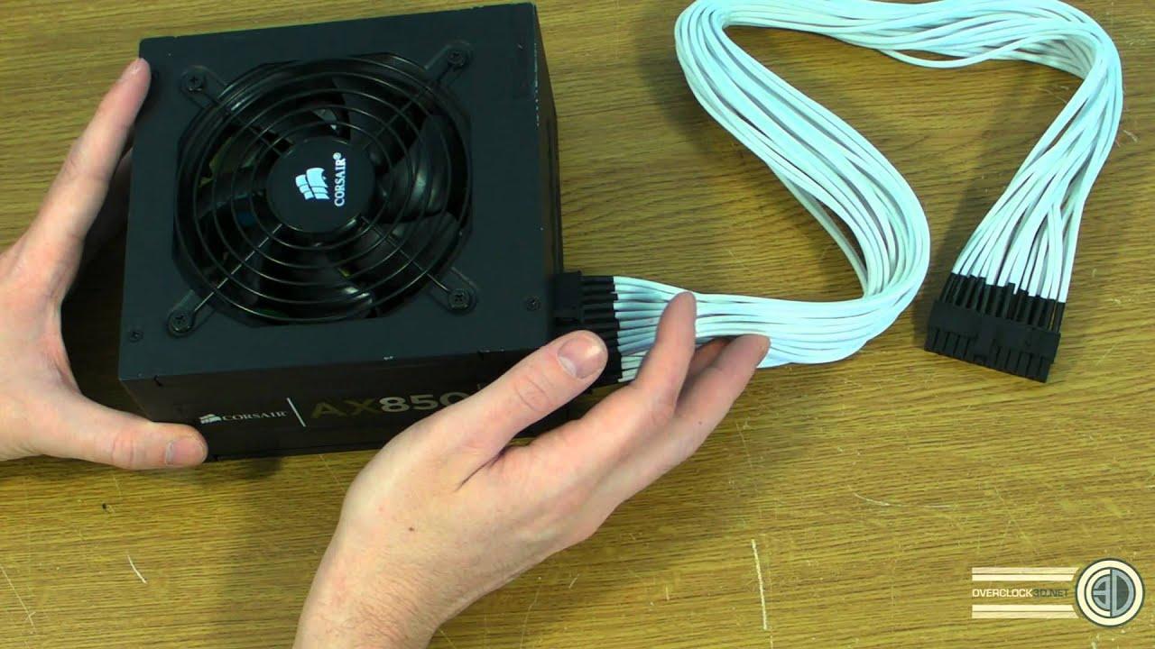 Corsair Individually Braided Psu Cables Ax1200 Ax850 Ax750