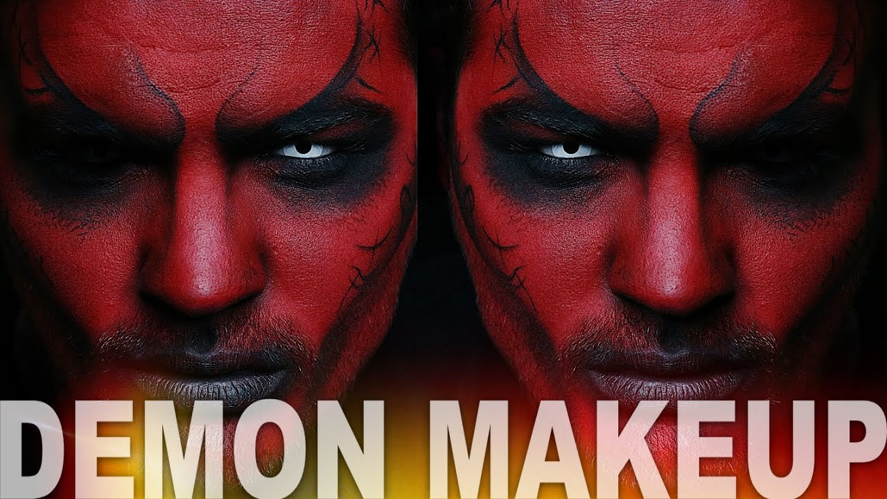 Demon Makeup | Halloween Makeup Tutorial | Alex Faction - YouTube