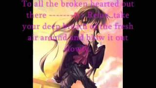 What Hurts The Most - Monica - Sad Anime Girls slideshows With Message