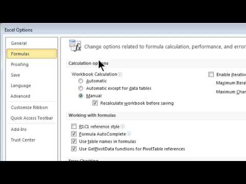 How To Automatically Update Excel 2010 : Tips For Microsoft Office & Windows
