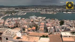 """IBIZA - Teil 2 """"Die Inselhauptstadt Ibiza-Stadt - Eivissa und Urlaubsziele an der Ostküste"""" Balearen"""