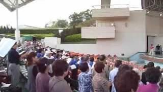 2009年10月3日 埼玉県秩父市の秩父ミューズパーク野外ステージで行われ...