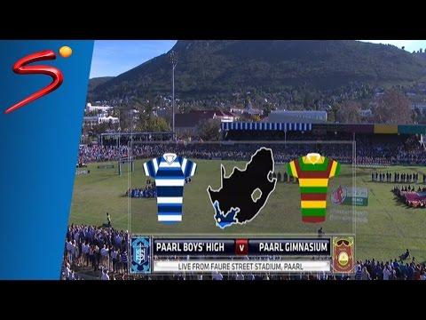 M&F Premier Interschools 2016: Paarl Boys High vs Paarl Gimnasium 1st Half