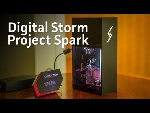 Digital Storm Project Spark is an impressive miniature, liquid-cooled gaming rig