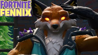 ITEM SHOP: *NEW* FORTNITE FENNIX FURFACE FOXPACK FUR FORCE FOX SKIN EMOTES GAMEPLAY SHOWCASE