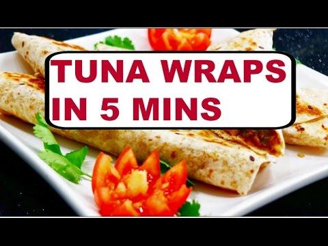 Tuna Wraps In 5 Mins