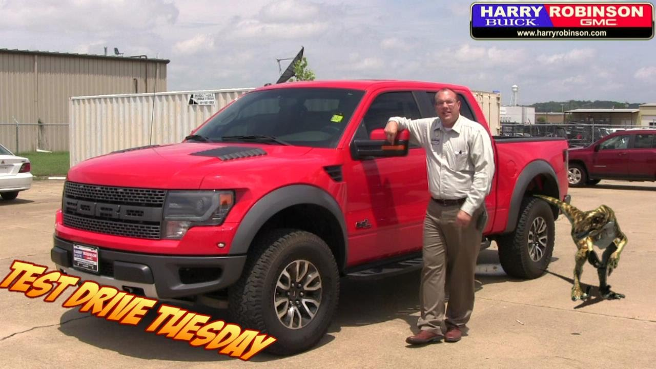 Test Drive Tuesday - 2013 Race Red Ford F-150 Raptor - YouTube