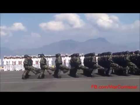 Lễ duyệt binh của Hải quân nhân dân Việt Nam  - Viet Nam Navy parade 2015