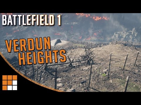 Battlefield 1: Verdun Heights Map Overview and Exclusive Gameplay