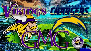 Vikings vs Chargers - GMG Preview Show