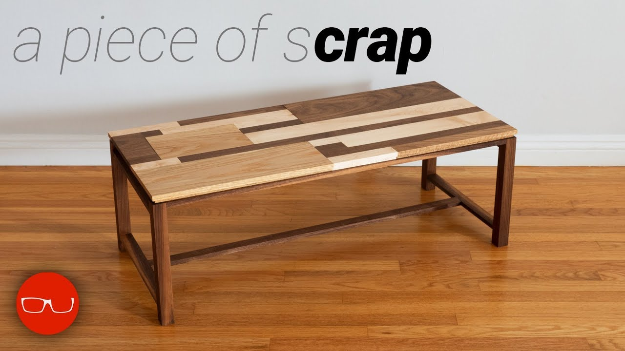 S Wood Coffee Table You