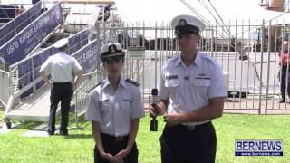 Cadets Of The US Coast Guard Eagle, June 29 2013
