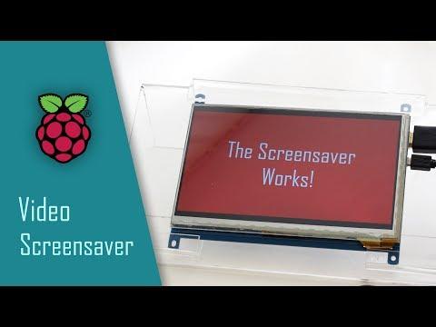 Raspberry Pi: Use a Video as a Screensaver