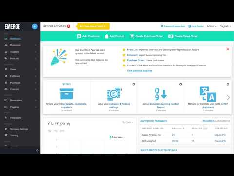 Multi Currency Inventory Management Software - EMERGE App