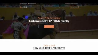 Appeal - Fully Functional Petition WP Theme Review