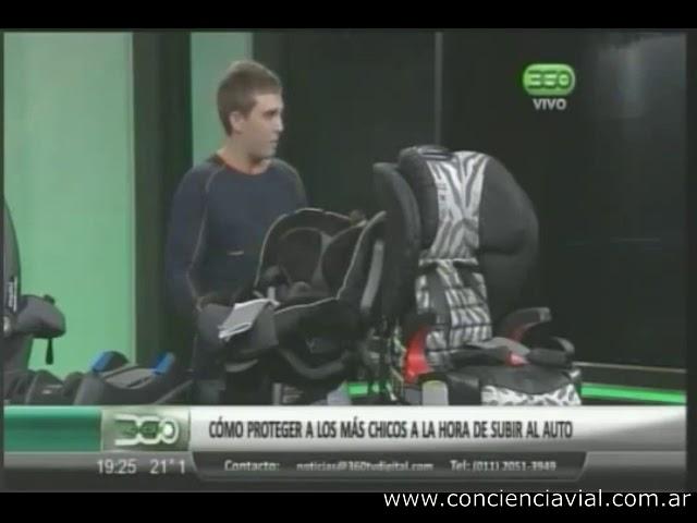 2012 - 360TV - Axel Dell' Olio explicando los SRI y hablando de por qué no usar arnés en el auto