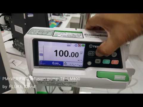 PM-VERIFIED Infusion pump TE-LM800 by IDA-4