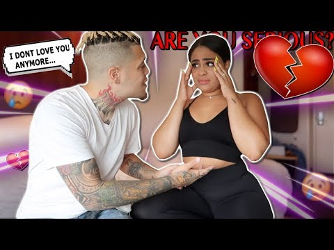I DONT LOVE YOU ANYMORE PRANK ON EX GIRLFRIEND! *SO EMOTIONAL*
