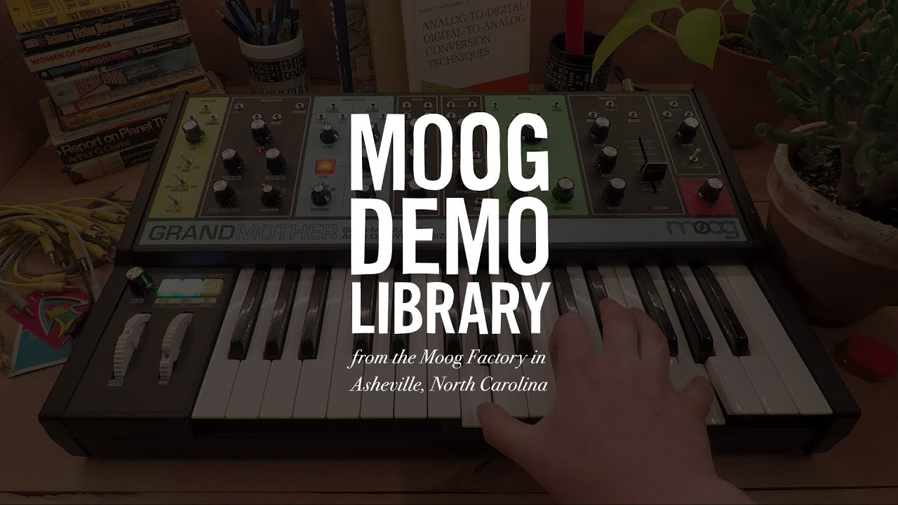Moog Grandmother Semi Modular Analogue Synthesizer