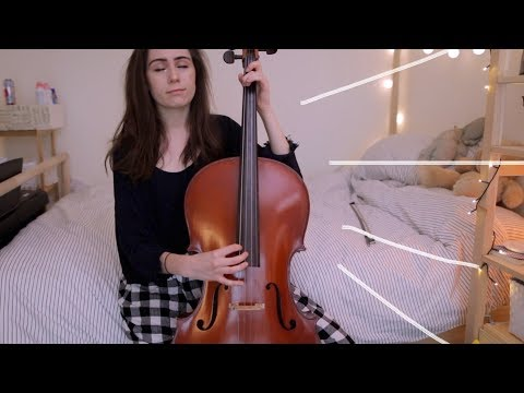 first ever time playing cello! a summer nights cover!