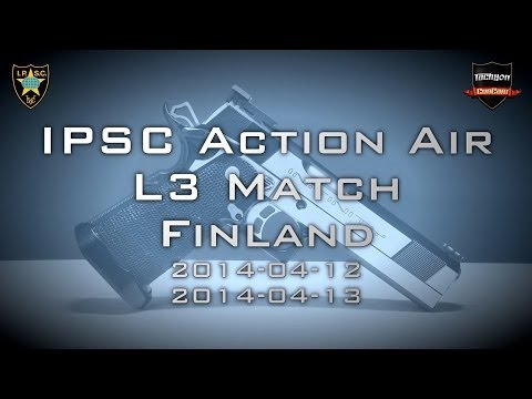 IPSC Action Air Level 3 Match Finland