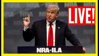 🔴LIVE: President Donald Trump URGENT Speech at NRA Convention in Indiana