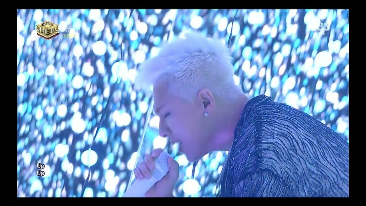 TAEYANG - 'WAKE ME UP' 0820 SBS Inkigayo