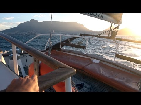 Sunset champagne cruise in WaterFront - Cape Town