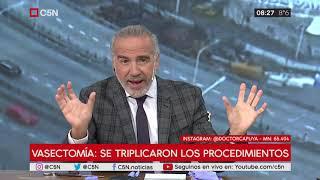El consultorio del Dr. Capuya: se triplicaron los procedimientos en la vasectomía