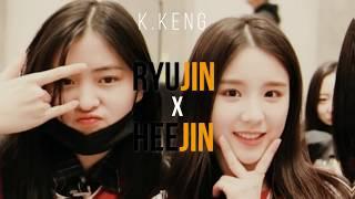 Itzy's Shin Ryujin X Loona's Joen Heejin/2Jin ft. Hyunjin, Jiu, Dami & Siyeon- Bestfriend