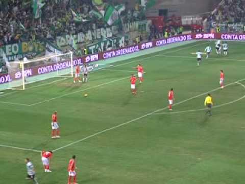 Golo do Sporting - Final da Taça da Liga 2008-2009