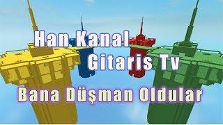 Han Kanal Gitaris Tv Bana Düşman Oldular / Doomspire Brickbattle / Roblox Türkçe