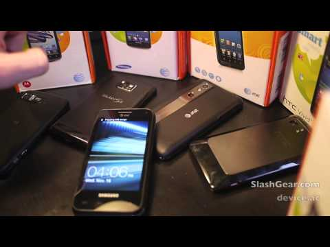 Samsung Captivate Glide vs AT&T Android lineup