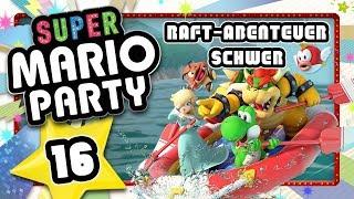 SUPER MARIO PARTY 🎲 #16: Raft-Abenteuer auf schwer!
