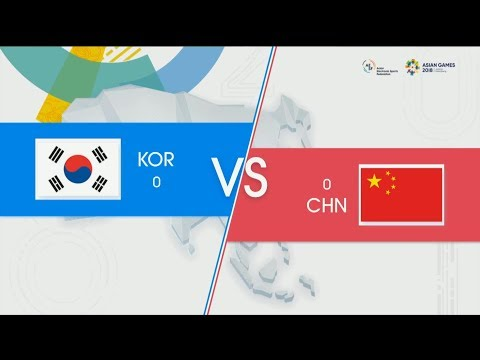 KOR Vs CHN Highlights Game 3 Asian Games Finals 2018 Korea Vs China By Onivia