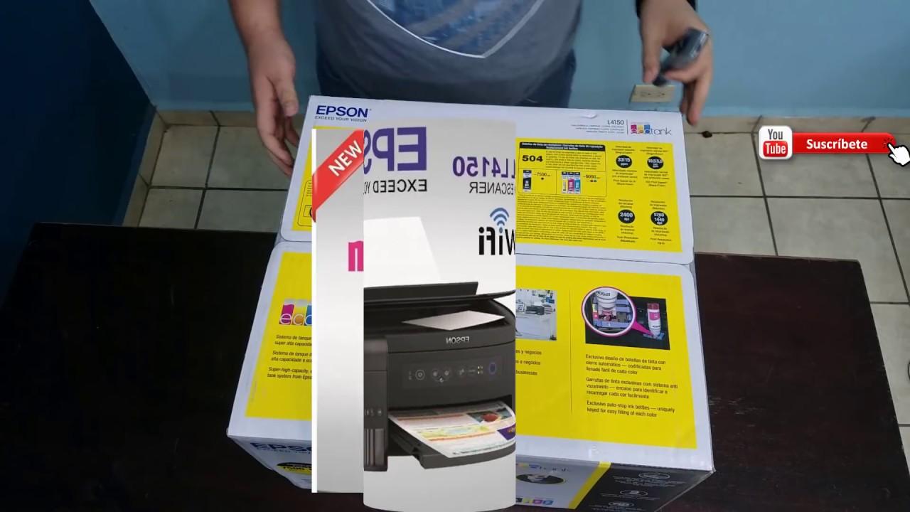 Impresora Epson L4150