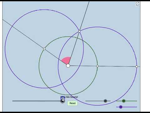 Angle Bisector Construction: 2 Methods (without Words or Numbers)