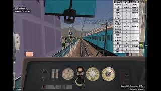 12[BVE5] 追加公開された221系新快速ダイヤを運転 JR神戸線3303M 大阪⇒神戸【尼崎通過】