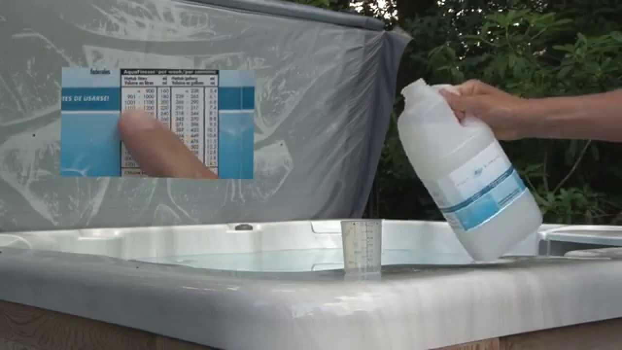 AquaFinesse Hot Tub / Spa Water Care