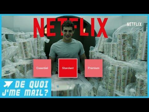 Netflix pourrait augmenter ses tarifs prochainement  DQJMM (1/2)