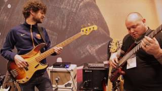 NAMM 2017: Michael League & Wes Stephenson Live At The Dunlop Booth