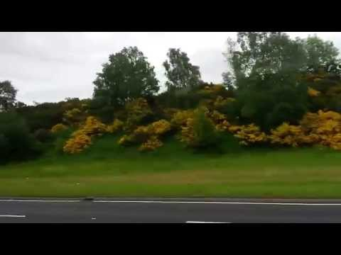 Bus ride from Inverness to Scrabster
