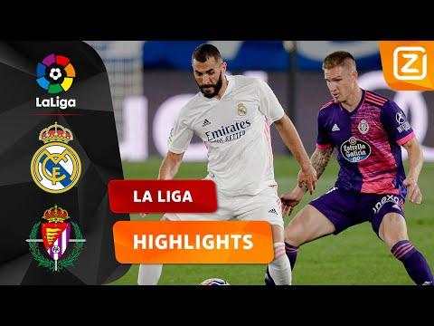MOOI DUEL IN MADRID! 🔥   Real Madrid Vs Real Valladolid   La Liga 2020/21   Samenvatting