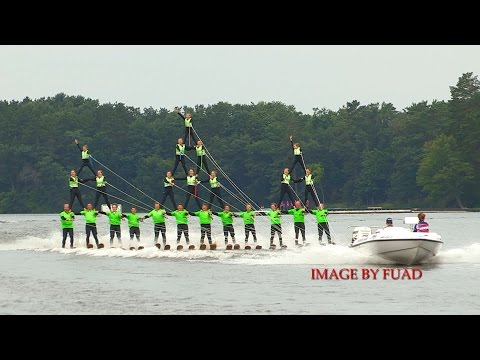 Waterboard Warriors Wisconsin State Waterski Show Championships 2014