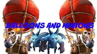 Balloon Minion Strategy For Town Hall Level 8