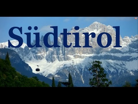 Sudtirol - The northmost province in Italy